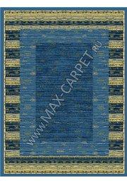 Польский ковер из синтетики Agnella Standard Karen blue