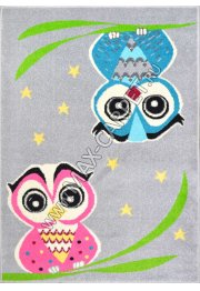 Agnella Funky Top Owl grey
