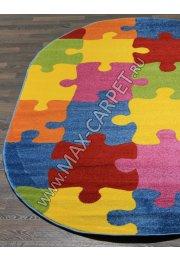 Детские ковры Crystal V820 MULTICOLOR — Овал