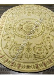 Savonnery A9031 beige oval