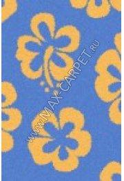 Длинноворсовый ковер Shaggy Ultra s605 — BLUE-YELLOW