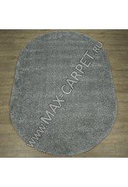Длинноворсовый ковер Shaggy Ultra S600 — GREY Oval