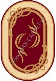 Российский ковер Buhara OLYMPOS a704 — RED Овал