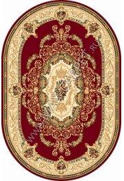 Российский ковер Buhara OLYMPOS d058 — RED Овал