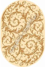 Российский ковер Buhara OLYMPOS d156 — CREAM Овал