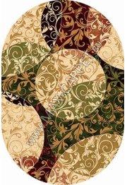 Российский ковер Buhara OLYMPOS d346 — BEIGE Овал