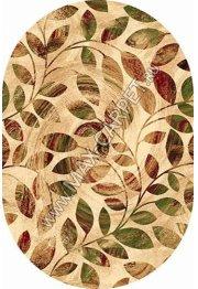 Российский ковер Buhara OLYMPOS d347 — BEIGE Овал