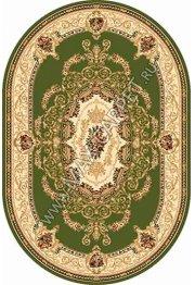Российский ковер Buhara OLYMPOS d058 — GREEN Овал