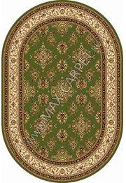Российский ковер Buhara OLYMPOS d064 — GREEN Овал