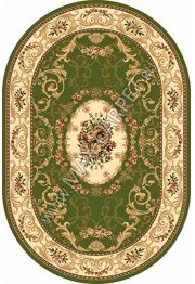 Российский ковер Buhara OLYMPOS d066 — GREEN Овал