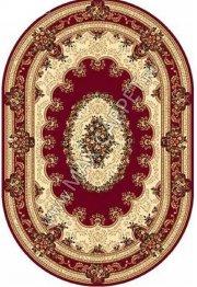 Российский ковер VALENCIA 5440 — RED овал