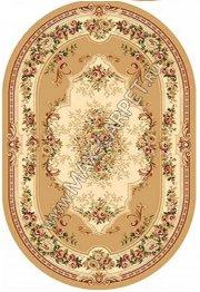 Российский ковер VALENCIA 4015 — BEIGE Овал