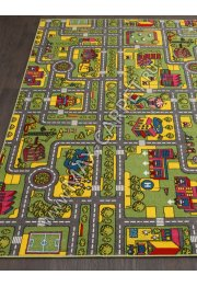 Детский ковер RIO C024 — GREEN-GRAY