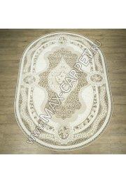Российский ковер Каскад дизайн 27101 цвет 24055 Овал