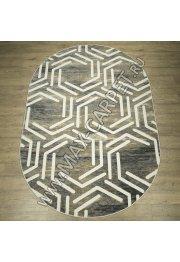 Российский ковер Квест дизайн 31113 цвет 45155 Овал