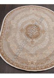 Турецкий ковер QATAR 33342 — 080 BROWN — Овал