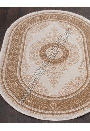 Турецкий ковер QATAR 33030 — 080 BROWN — Овал