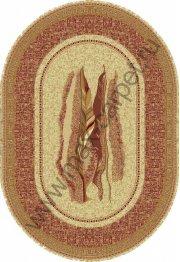 Шерстяной молдавский ковер Abstract Pastel 121-1659 овал