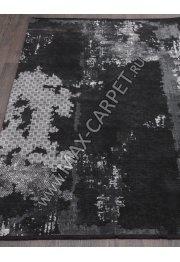 Турецкий ковер VISKONTI 30547A_BH3_77 — BLACK