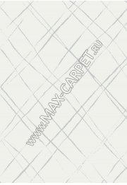 Бельгийский ковер Ambiance 81253 White-Silver