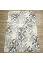 Турецкий ковер Kalahari дизайн W6772 цвет L.GREY / IVORY
