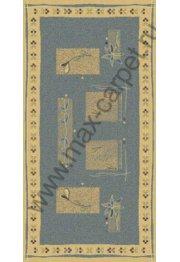 Шерстяной молдавский ковер Abstract Lavanda 234-4519