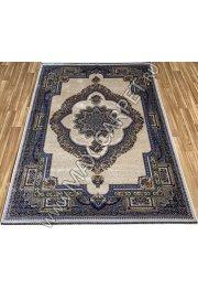 Турецкий ковёр шелковый QUM 2007-CRE-BOR 9050 bej