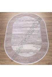 Турецкий ковер Kalahari W1512 цвет CREAM / BEIGE Oval