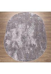 Турецкий ковер Kalahari W6773 цвет L.GREY / GREY Oval