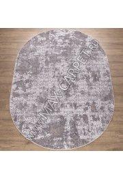 Турецкий ковер Kalahari W6807 цвет CREAM / BEIGE Oval