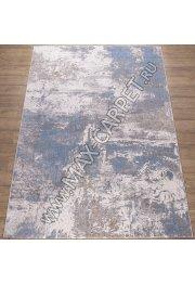 Турецкий ковер Kalahari W9734 цвет CREAM / L.BLUE