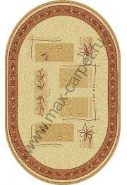 Шерстяной молдавский ковер Abstract Lavanda 234-1659  овал