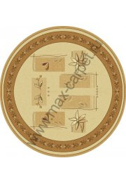 Шерстяной молдавский ковер Abstract Lavanda 234-1149  круг