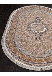 Иранский ковер из бамбука FARSI 1200 G129 — CREAM Oval