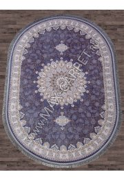 Иранский ковер из бамбука FARSI 1200 G253 — BLUE-C — Овал