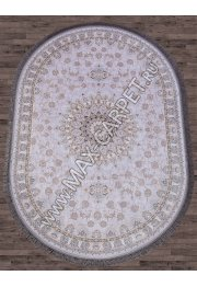 Иранский ковер из бамбука FARSI 1200 G253 — DIAMOND — Овал
