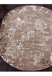 Ковер 1203A — VIZON COKEN / BROWN — Овал — коллекция MARDAN