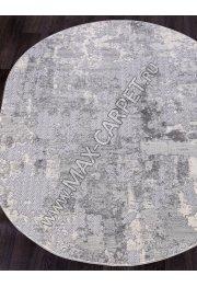 Ковер 1253C — COKEN D.GREY / K.GREY — Овал — коллекция MARDAN