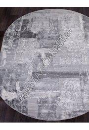 ARMINA Ковер 03758A — GREY / GREY — Овал