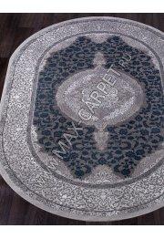 Турецкий ковер QUANTUM 03014G — GREY / GREY — Овал