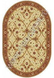 Шерстяной молдавский ковер Classic Bagdad 065-1659 овал