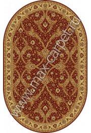 Шерстяной молдавский ковер Classic Bagdad 065-3658 овал