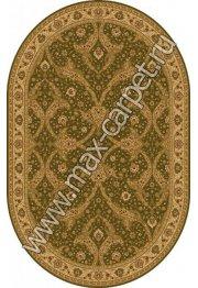 Шерстяной молдавский ковер Classic Bagdad 065-5542 овал