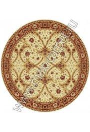 Шерстяной молдавский ковер Classic Bagdad 065-1659 круг