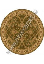 Шерстяной молдавский ковер Classic Bagdad 065-5542 круг
