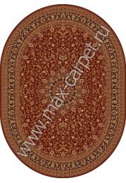 Шерстяной молдавский ковер Classic Isfahan 207-3658 овал