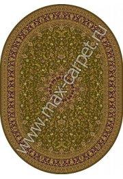 Шерстяной молдавский ковер Classic Isfahan 207-5542 овал