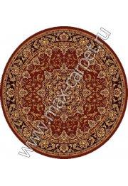 Шерстяной молдавский ковер Classic Isfahan 207-3658 круг