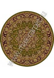 Шерстяной молдавский ковер Classic Isfahan 207-5542 круг