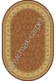 Шерстяной молдавский ковер Classic Magic 287-3658 овал